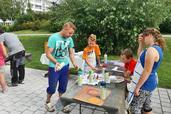 """Graffiti-Nachmittag mit dem Jugendclub """"Indalo"""""""